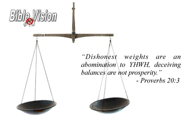 dishonest scales