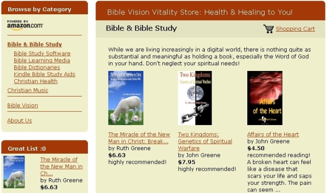 vitality book store