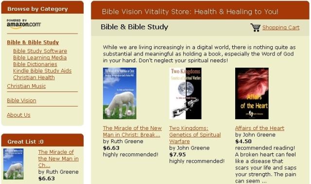 vitality book store