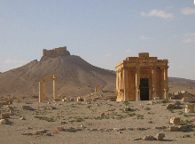 temple of baal in syria