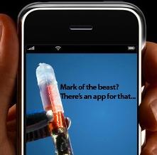 mark of the beast app