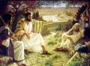 jesus mount olives