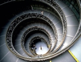 staircase - vatican museum