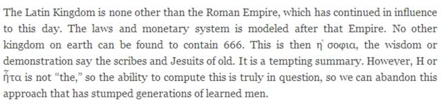 latin kingdom 666