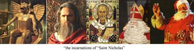 incarnations of Saint Nicholas