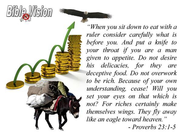Proverbs 23:1-5