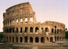 Colosseum built with Temple