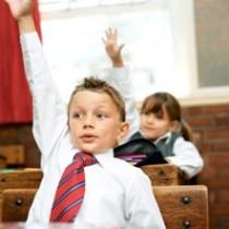 hand-raised