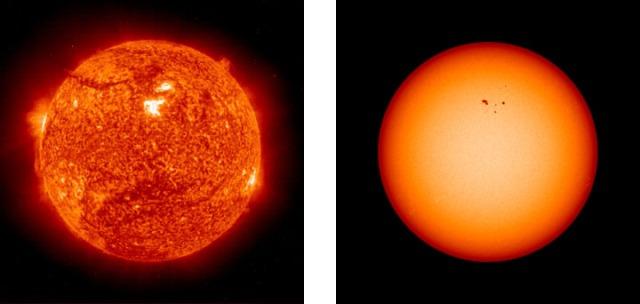 solar activity change